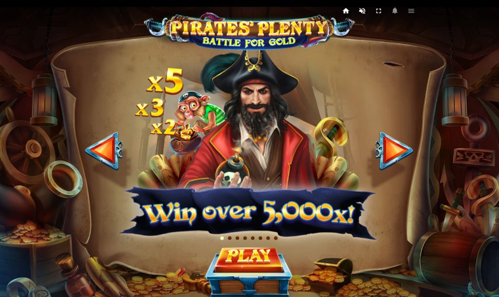 Pirates plenty スロット