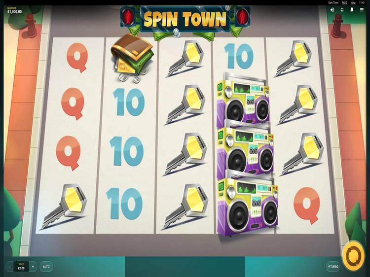 Spin town 画像