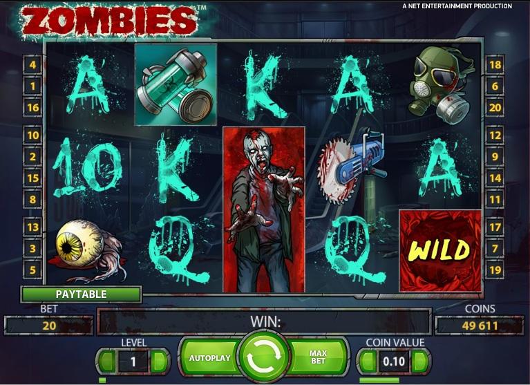 Zombies スロット